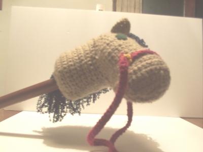 Tejidos Crochet Dos Agujas Caballito Con Palo