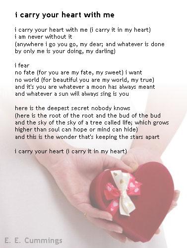 corazon roto poemas. Tomé prestado este poema,