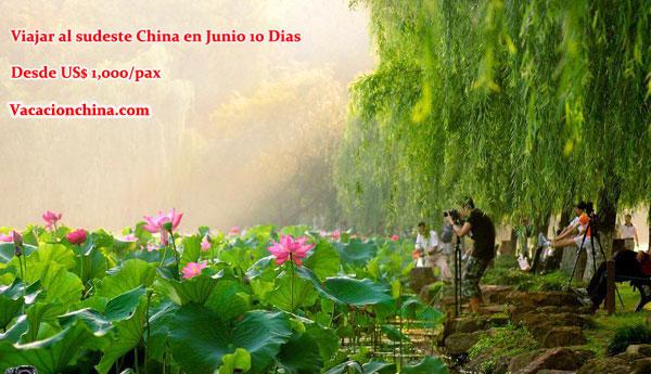 Viajar al sudeste China en Junio 10 Dias