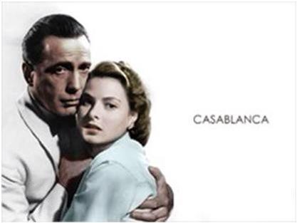 Casablanca es una película..