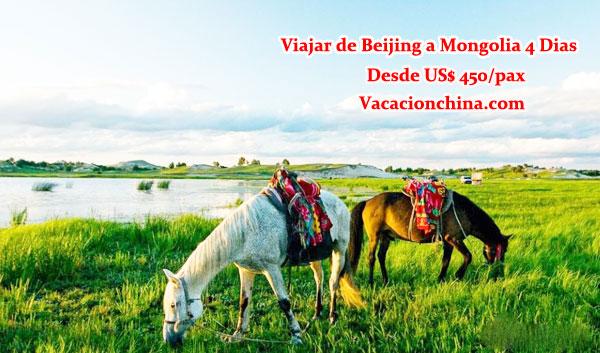 Viajar de Beijing a Mongolia