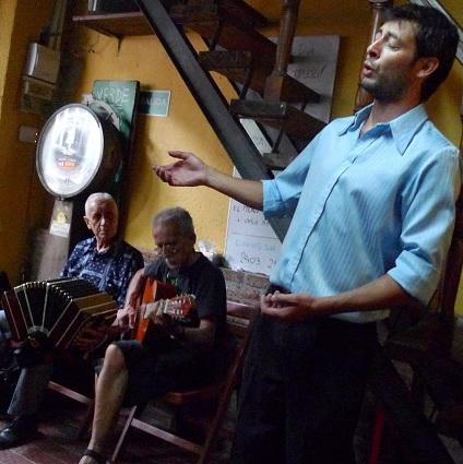 Domingos de tango al mediodía en el Verde Resto Pub con dos maestros Silvio Ortega y Antonio Díaz